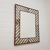 Для дома и интерьера ручной работы. Ярмарка Мастеров - ручная работа Мозаичное настенное зеркало. Handmade.