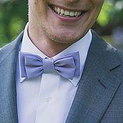 Аксессуары handmade. Livemaster - original item tie lilac. Handmade.
