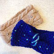 Аксессуары handmade. Livemaster - original item Knitted bandage