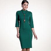 Одежда ручной работы. Ярмарка Мастеров - ручная работа 030: Платье повседневное, платье женское, платье офисное. Handmade.