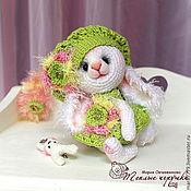 """Куклы и игрушки ручной работы. Ярмарка Мастеров - ручная работа Зайка """"Весна пришла!"""", зайчонок, белый кролик, игрушка, сувенир. Handmade."""