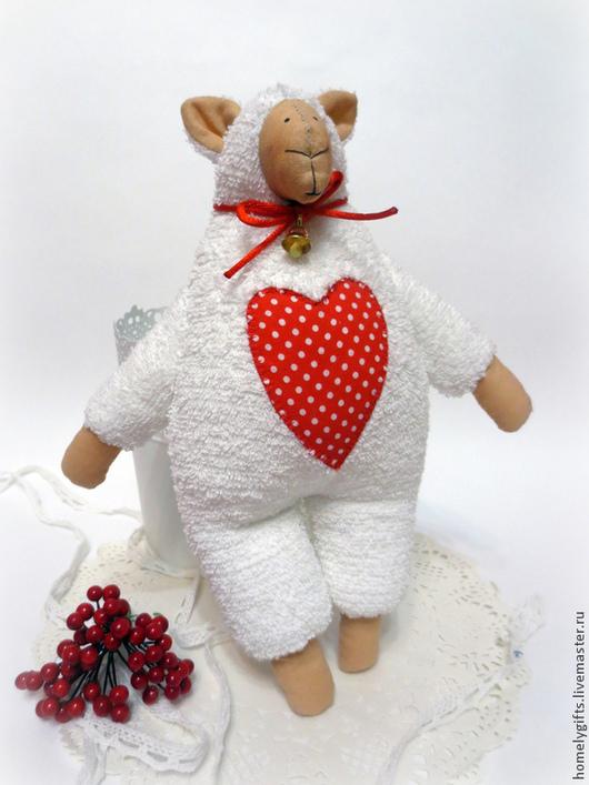 Куклы Тильды ручной работы. Ярмарка Мастеров - ручная работа. Купить Овечка Тильда. Handmade. Овечка, прикольная игрушка