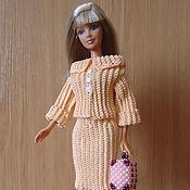 Куклы и игрушки ручной работы. Ярмарка Мастеров - ручная работа Персиковый костюм. Handmade.