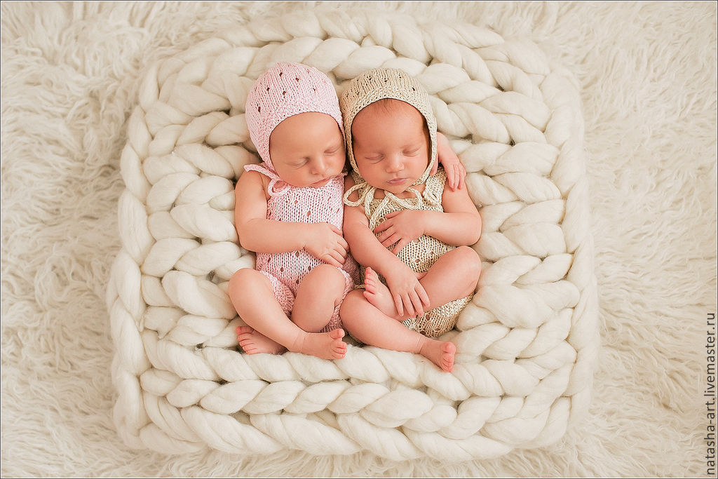 Костюм «Мышка Мини» крючком для фото сессии новорожденных. Мастер - класс 15
