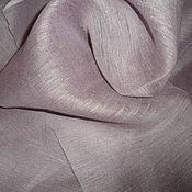 Ткани ручной работы. Ярмарка Мастеров - ручная работа Лен-вуаль-цветение сакуры. Handmade.