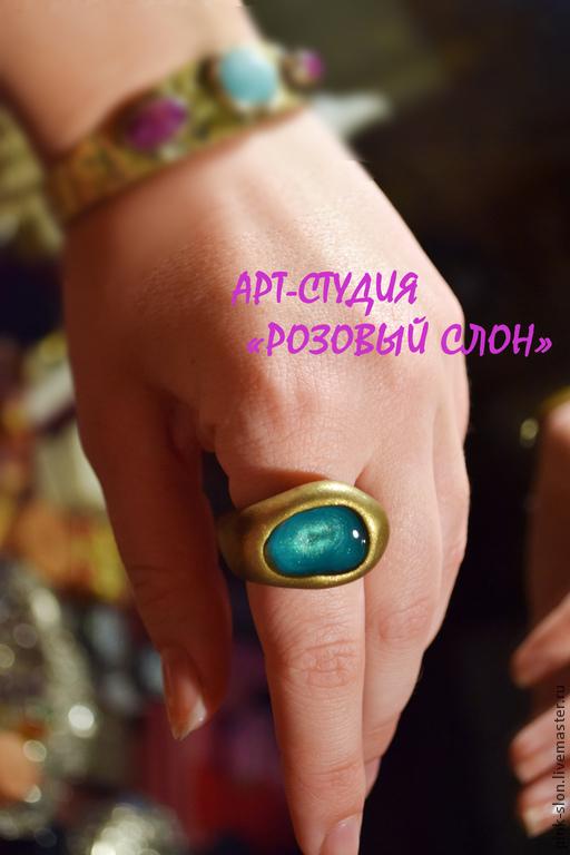"""Кольца ручной работы. Ярмарка Мастеров - ручная работа. Купить Кольцо """"Delusion"""", кольцо из полимерной глины.. Handmade. Кольцо женское"""
