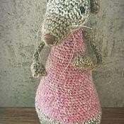 Куклы и игрушки handmade. Livemaster - original item Interior toy Rat author`s knitted handmade. Handmade.