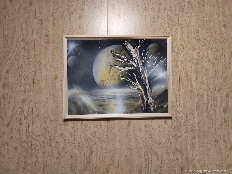 Лунное дерево, Картины, Уфа,  Фото №1