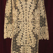 Одежда handmade. Livemaster - original item Lace dress MODERN Vyatka Vologda lace. Handmade.