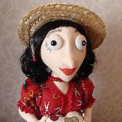 Куклы и игрушки ручной работы. Ярмарка Мастеров - ручная работа Кукла-шкатулка. Handmade.