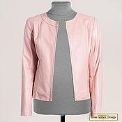 Одежда handmade. Livemaster - original item Jacket made of genuine leather for lining. Handmade.