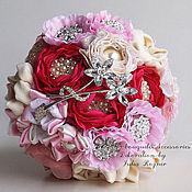 Свадебный салон handmade. Livemaster - original item Brooch bouquet