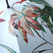 Аксессуары handmade. Livemaster - original item Umbrella with hand painted