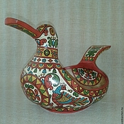 Русский стиль handmade. Livemaster - original item Bucket skobkar large. Handmade.