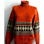 Одежда handmade. Livemaster - original item Sweater knit Vintage (3). Handmade.