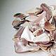Другие виды рукоделия ручной работы. Заказать Кусочки раковин розовой мидии. ViMhandmade. Ярмарка Мастеров. Материал для скрапбукинга