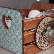 Для дома и интерьера ручной работы. Ярмарка Мастеров - ручная работа Кухонный короб. Handmade.