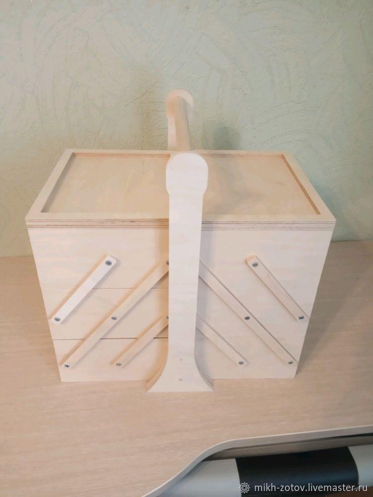Органайзер раскладной на 3 яруса (заготовка) ширина 25 см, Органайзеры, Пенза,  Фото №1