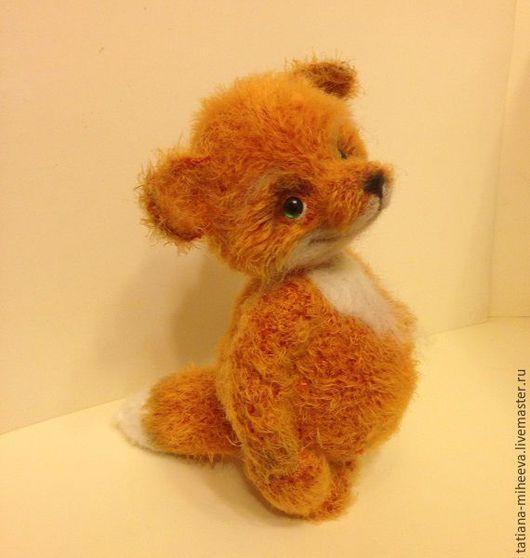 Мишки Тедди ручной работы. Ярмарка Мастеров - ручная работа. Купить лисёнок Бонни. Handmade. Рыжий, тедди, вязаная игрушка