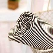 Материалы для творчества ручной работы. Ярмарка Мастеров - ручная работа Ткань плотный хлопок Полоска 2мм. Handmade.