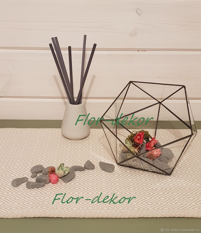 Флорариум ручной работы №4