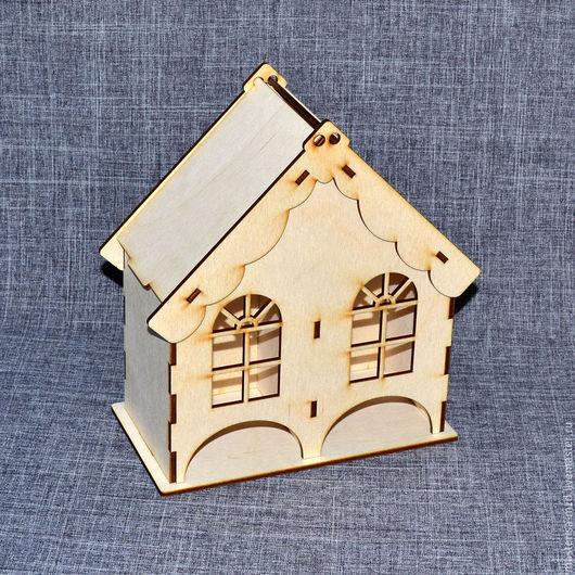 ЧД-12-005. Двойной чайный домик с окошками. Поставляется в разобранном виде. При покупке от 10 шт скидка!
