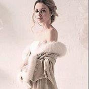 Одежда ручной работы. Ярмарка Мастеров - ручная работа Пальто ОДЕТТА. Handmade.