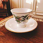 Винтаж handmade. Livemaster - original item tea and coffee pairs Boehm China England. Handmade.