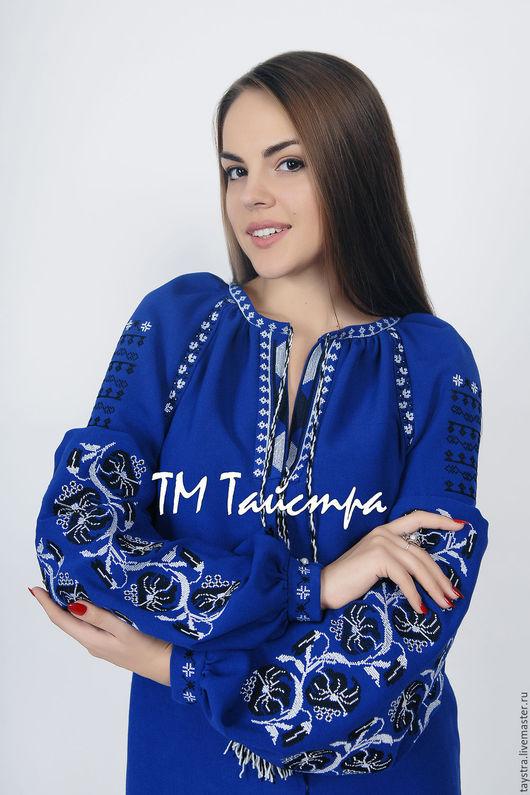 Вышитая блуза бохо стиль Vita Kin, Украинское платье вышиванка,льняное платье макси,миди, туники,блузы, рубашки,жилеты,пальто.  Дизайнерская работа -индивидуальный пошив.Размеры XS-4XL