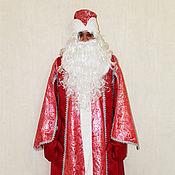 Одежда ручной работы. Ярмарка Мастеров - ручная работа Акция! Костюм Деда Мороза боярский. Handmade.