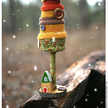 """Подарки к праздникам ручной работы. Ярмарка Мастеров - ручная работа Елка """"Мед с брусникой"""". Handmade."""