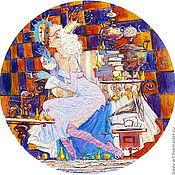 """Картины и панно ручной работы. Ярмарка Мастеров - ручная работа """"У меня есть тайна"""". Handmade."""