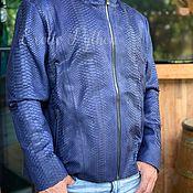 Мужская одежда handmade. Livemaster - original item Jacket from Python. Handmade.