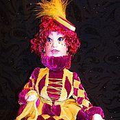 """Куклы и игрушки ручной работы. Ярмарка Мастеров - ручная работа Кукла Коломбина"""". Handmade."""
