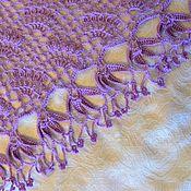 Аксессуары handmade. Livemaster - original item Lavender shawl. Handmade.