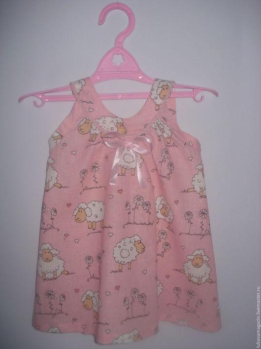 """Одежда для девочек, ручной работы. Ярмарка Мастеров - ручная работа. Купить Платье детское""""Овечка Долли"""". Handmade. Бледно-розовый, для девочки"""