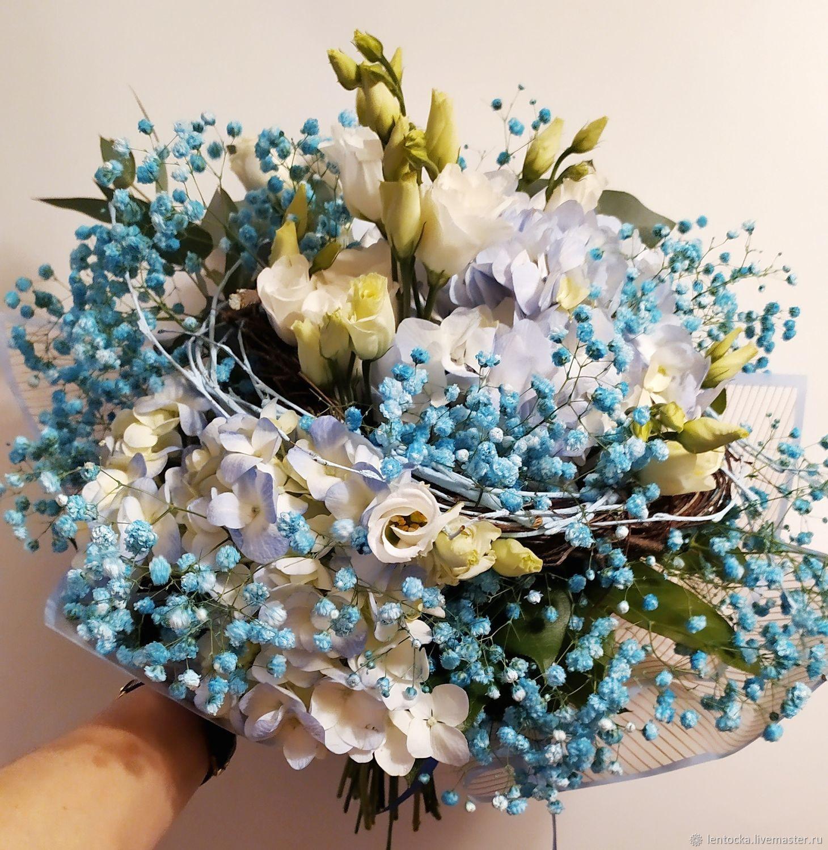 """Букет """"Голубка"""" 2 варианта. Живые цветы, Букеты, Москва,  Фото №1"""