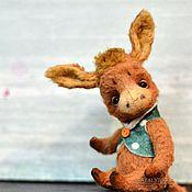 Куклы и игрушки ручной работы. Ярмарка Мастеров - ручная работа Ослик коллекционная игрушка Осел Ослик  тедди. Handmade.