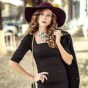Одежда handmade. Livemaster - original item Little black dress,