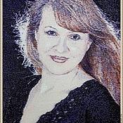 Подарки к праздникам handmade. Livemaster - original item 6 portraits for example.(tapestry beaded custom-made). Handmade.