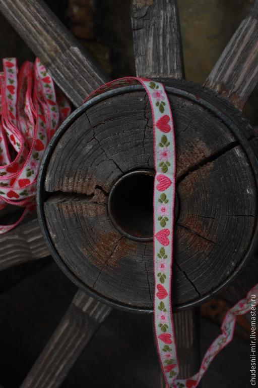 Другие виды рукоделия ручной работы. Ярмарка Мастеров - ручная работа. Купить тесьма. Handmade. Ярко-красный, тесьма декоративная