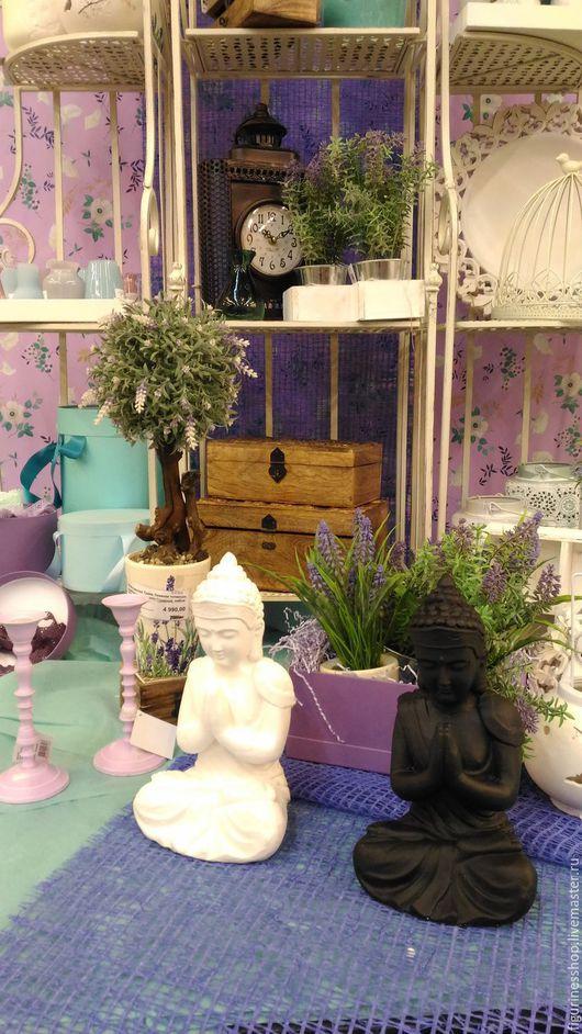 Статуэтки ручной работы. Ярмарка Мастеров - ручная работа. Купить Будда. Handmade. Белый, статуэтка, фигурка, скульптура, будда, буддизм