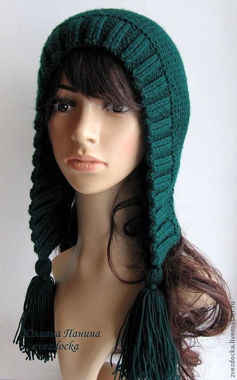 """Капюшоны ручной работы. Ярмарка Мастеров - ручная работа. Купить шапка """"Brushes"""". Handmade. Шапка, красивая шапка, ангора, зима"""