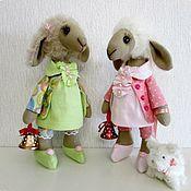 Куклы и игрушки ручной работы. Ярмарка Мастеров - ручная работа Овечки модные. Handmade.