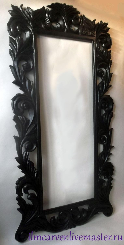 зеркала и рамы резные из дерева в краснодаре