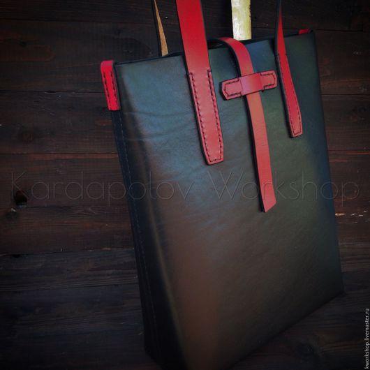 Женские сумки ручной работы. Ярмарка Мастеров - ручная работа. Купить Сумка шоппер 101. Handmade. Черный, тоут