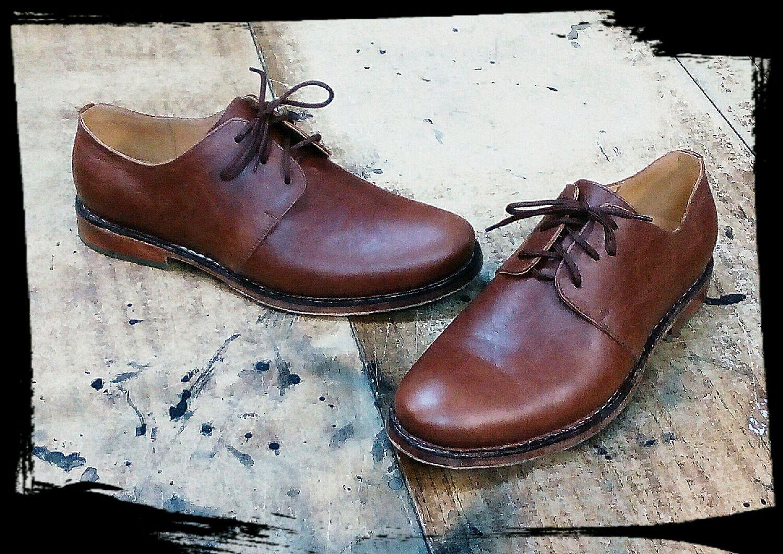 Обувь ручной работы. Ярмарка Мастеров - ручная работа. Купить Туфли демисезонные рантовые. Handmade. Кожа, заказ, броги