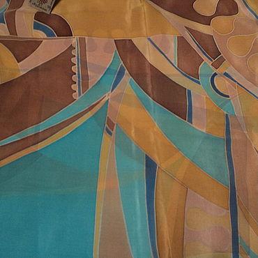 Accessories handmade. Livemaster - original item Silk scarf