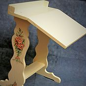 Куклы и игрушки ручной работы. Ярмарка Мастеров - ручная работа Винтажный столик для куклы.. Handmade.