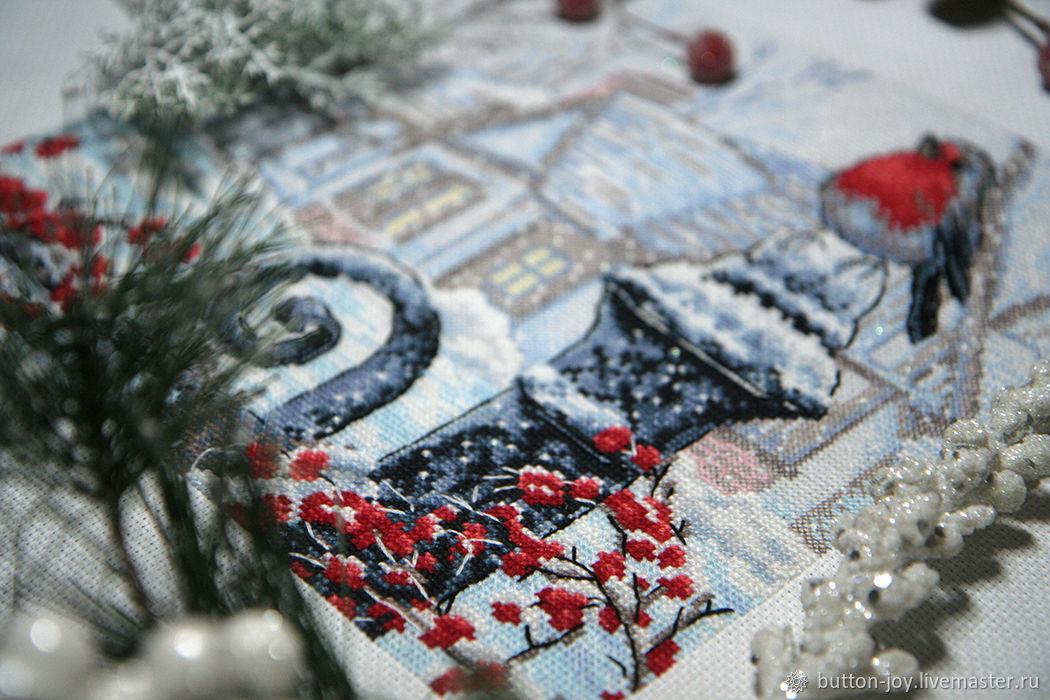 Январское утро Картина  Вышивка крестиком, Картины, Москва,  Фото №1